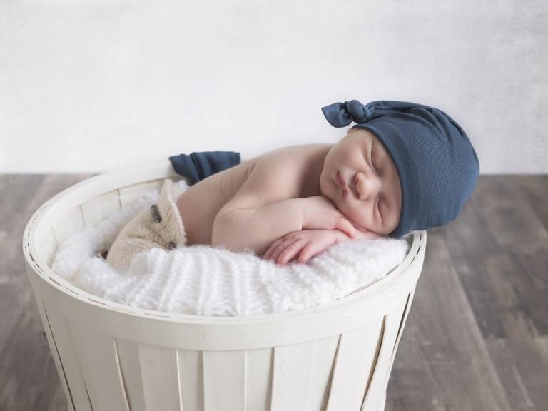 Sesión recién nacido en valladolid, arroyo de la encomineda